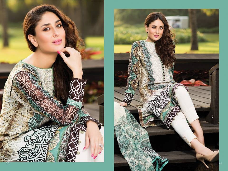13 - Faraz Manan Crescent Lawn Collection 2015 - YourLibaas