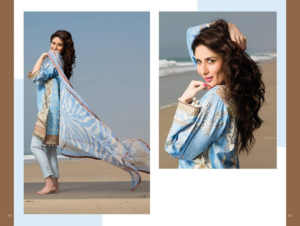 16 - Faraz Manan Crescent Lawn Collection 2015 - YourLibaas
