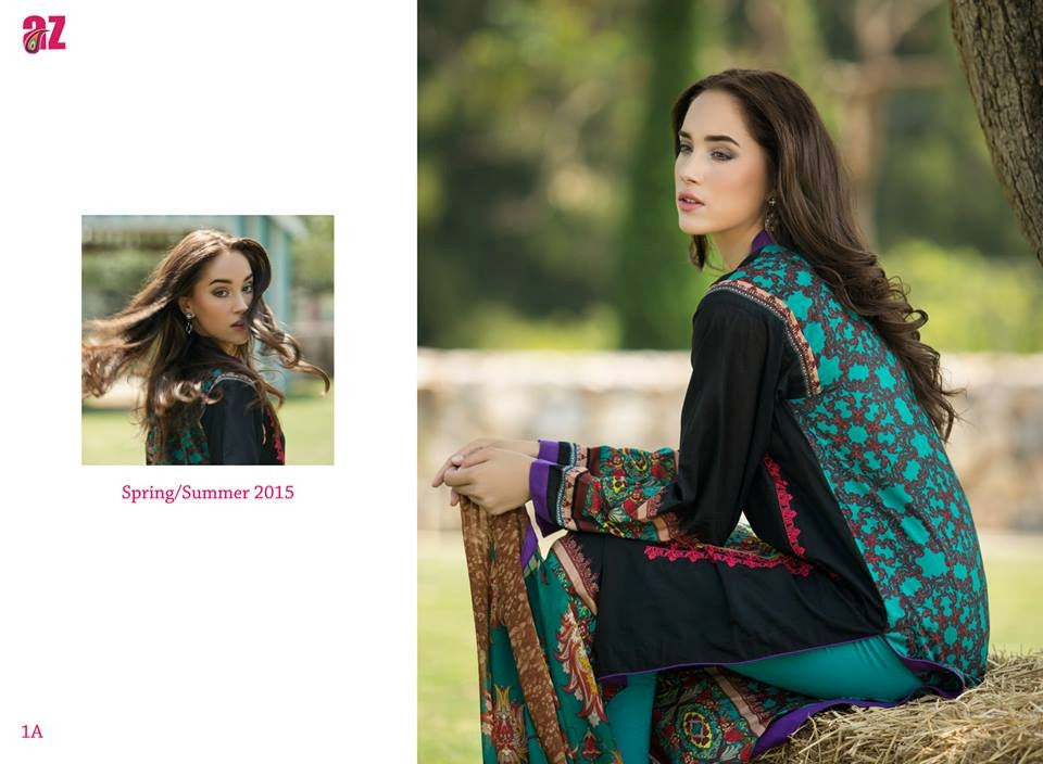 1A | Ayesha Zara Spring Summer Collection 2015 - YourLibaas