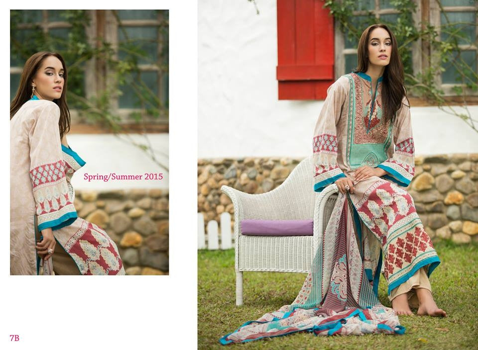 7B | Ayesha Zara Spring Summer Collection 2015 - YourLibaas