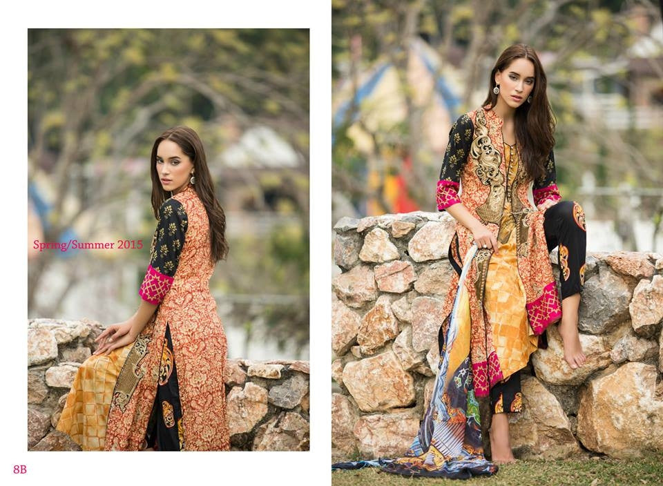 8B | Ayesha Zara Spring Summer Collection 2015 - YourLibaas