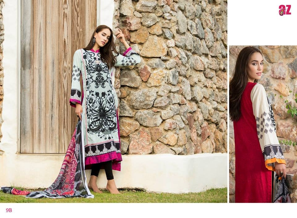 9B | Ayesha Zara Spring Summer Collection 2015 - YourLibaas