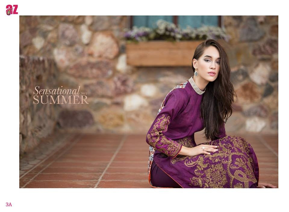 3A | Ayesha Zara Spring Summer Collection 2015 - YourLibaas