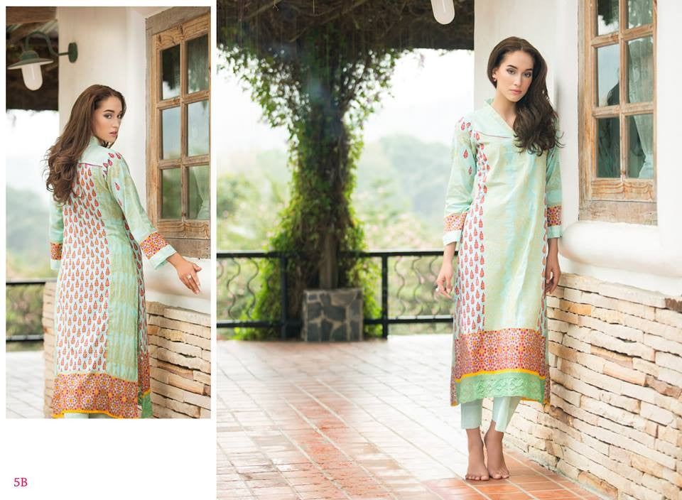 5B | Ayesha Zara Spring Summer Collection 2015 - YourLibaas