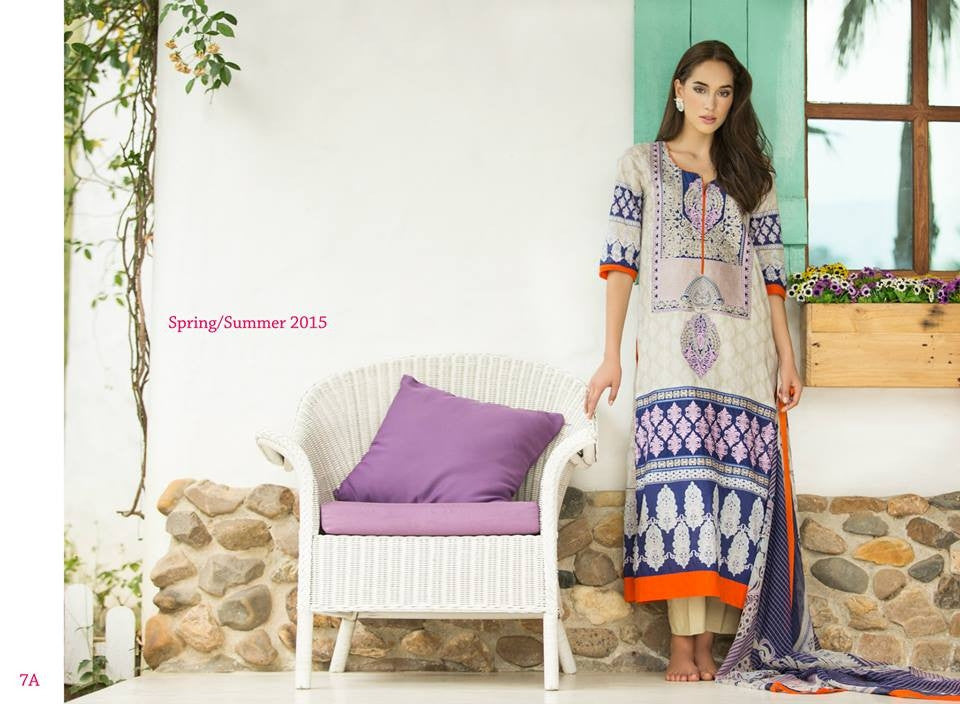 7A | Ayesha Zara Spring Summer Collection 2015 - YourLibaas