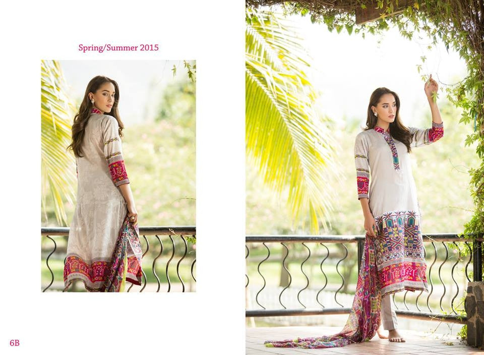 6B | Ayesha Zara Spring Summer Collection 2015 - YourLibaas