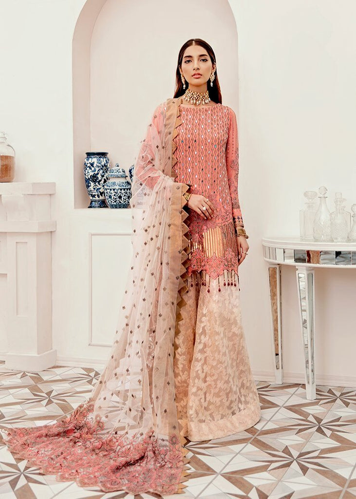 Afrozeh La Fuchsia Luxury Collection 2020 – Coral Lulu