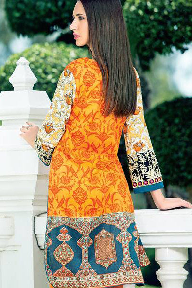 Zanisha Embroidered Kurti 2016 – 5A - YourLibaas