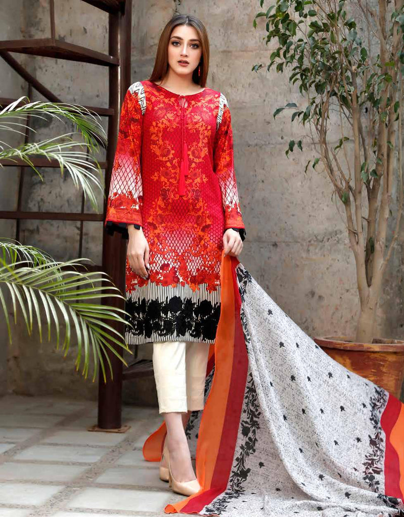 Charizma Yellow Series Spring/Summer Lawn Collection Vol-2 – Y-05A