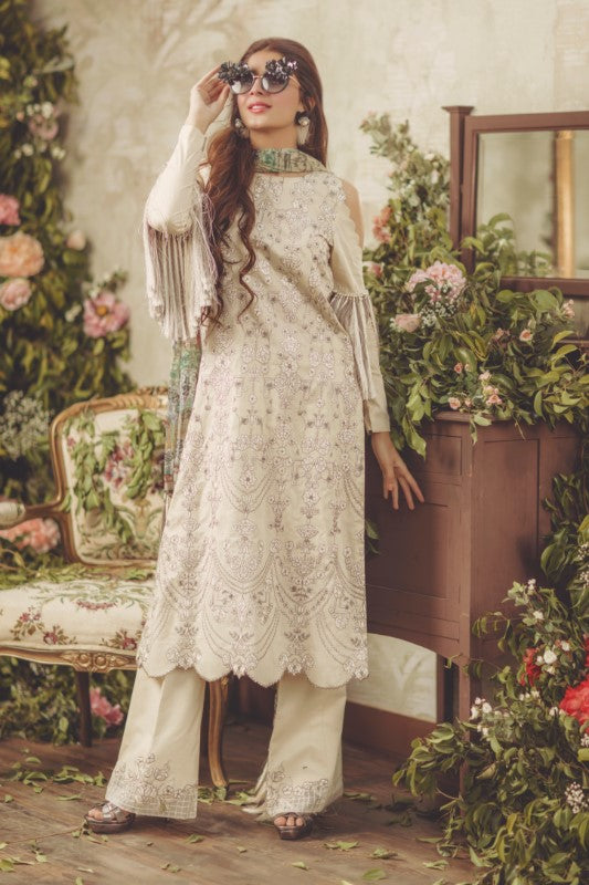 Noor by Saadia Asad Luxury Lawn 2018 – 05 Glazed