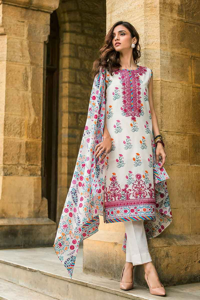 Gul Ahmed Summer Essential Collection 2019 – 2 PC TL-192 A