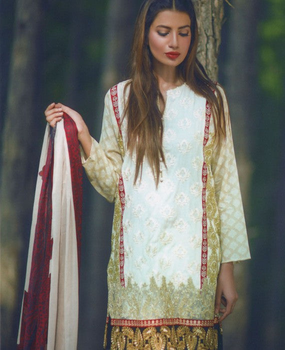 Mina Hasan Designer Lawn Collection 2016 –  6A - YourLibaas  - 1