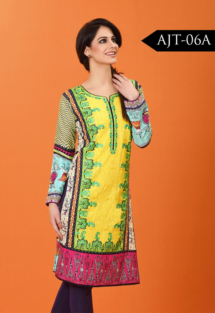 Asim Jofa Lawn Tunics Collection - AJT-6A - YourLibaas  - 1
