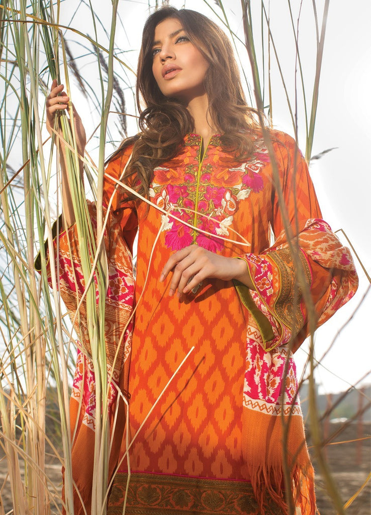 Sana Safinaz Winter Shawl Collection 2015 - 06A - YourLibaas