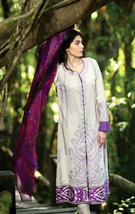 Sana Safinaz Summer Lawn Collection '14 – 6A - YourLibaas