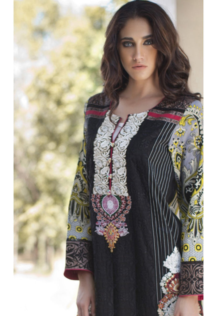 6B - Firdous Carnival Embroidered Collection 2015 - YourLibaas