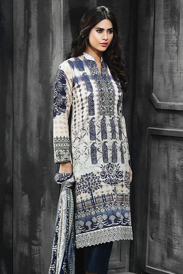 RajBari Silk Karandi Winter Collection 2015 - 6B - YourLibaas  - 1