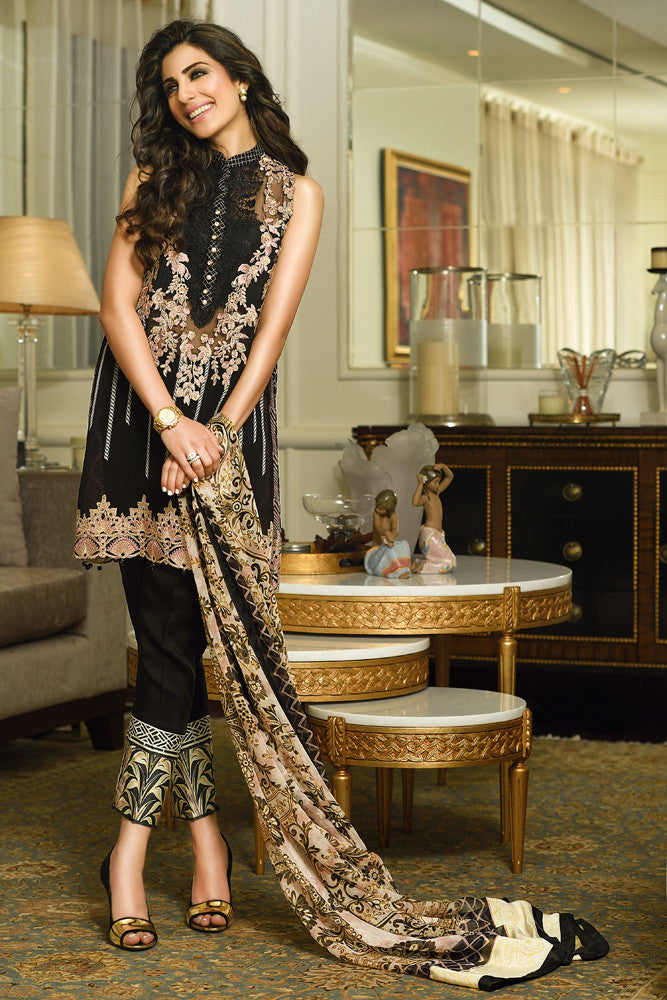 Faraz Manan Crescent Luxury '15 - 8 - YourLibaas  - 1