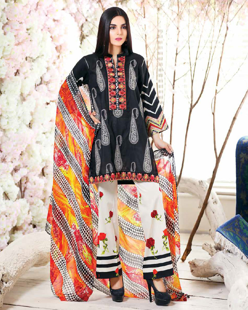 Riaz Arts Spring/Summer Orange Series 2018 Vol-1 – 5A