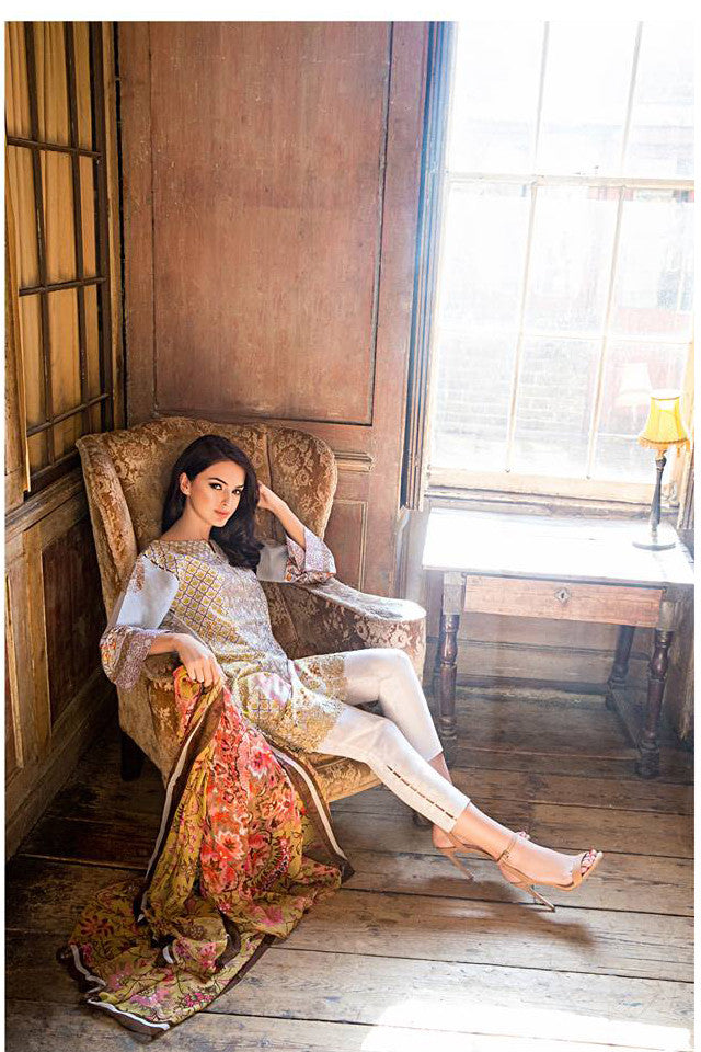 Sobia Nazir Lawn Collection '16 – 6A - YourLibaas