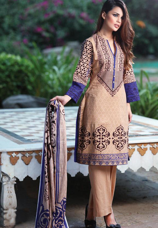 Anum Cambric Collection '16 – 06A - YourLibaas
