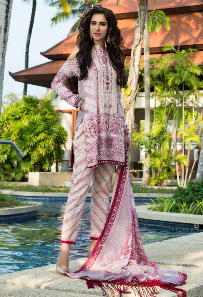 Shehla Chatoor Luxury Lawn Collection SS '16 – 6B - YourLibaas  - 1