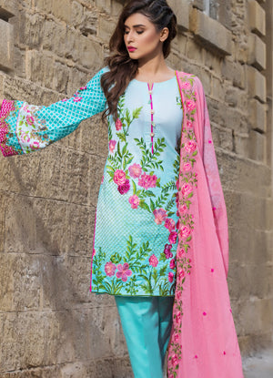 Sahil Cotton Embroidered Collection 2017 – 6B