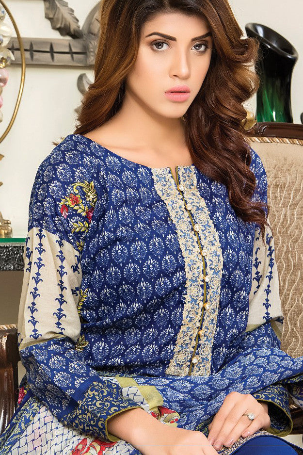 Sahil Designer Lawn Collection Vol-8 – 06B