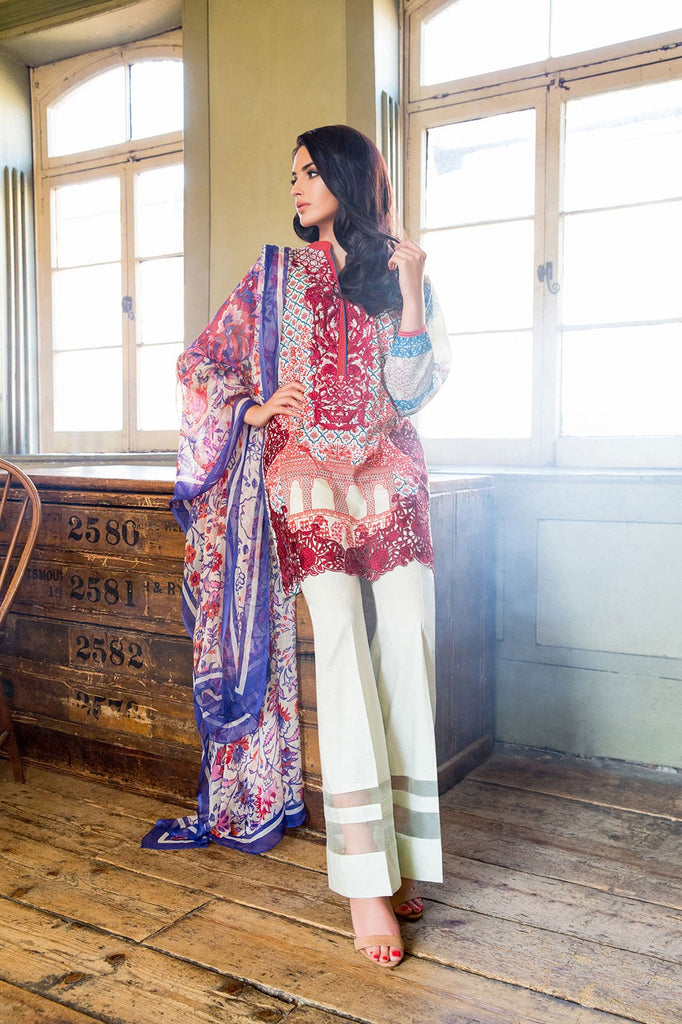 Sobia Nazir Lawn Collection '16 – 6B - YourLibaas  - 1