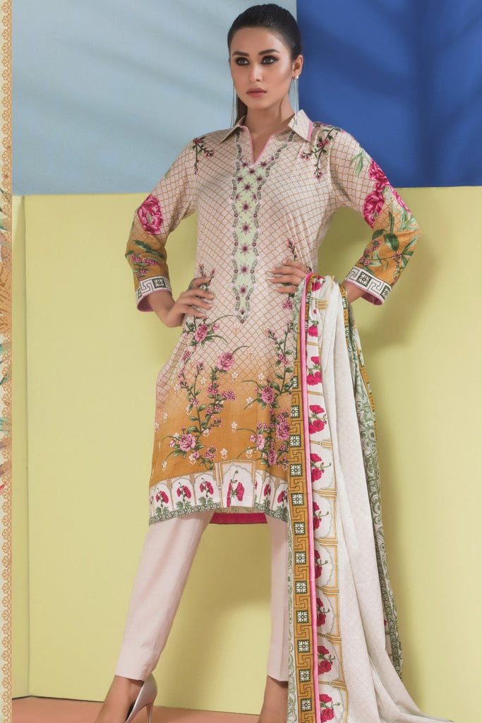 Sahil Designer Embroidered Lawn Collection Vol 6 – SH6-6B