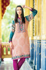 Zanisha Embroidered Kurti 2016 – 7A - YourLibaas  - 1