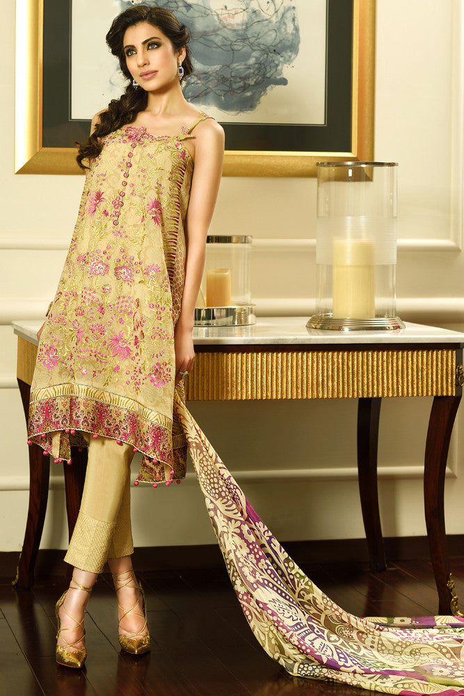 Faraz Manan Crescent Luxury '15 - 7 - YourLibaas  - 1
