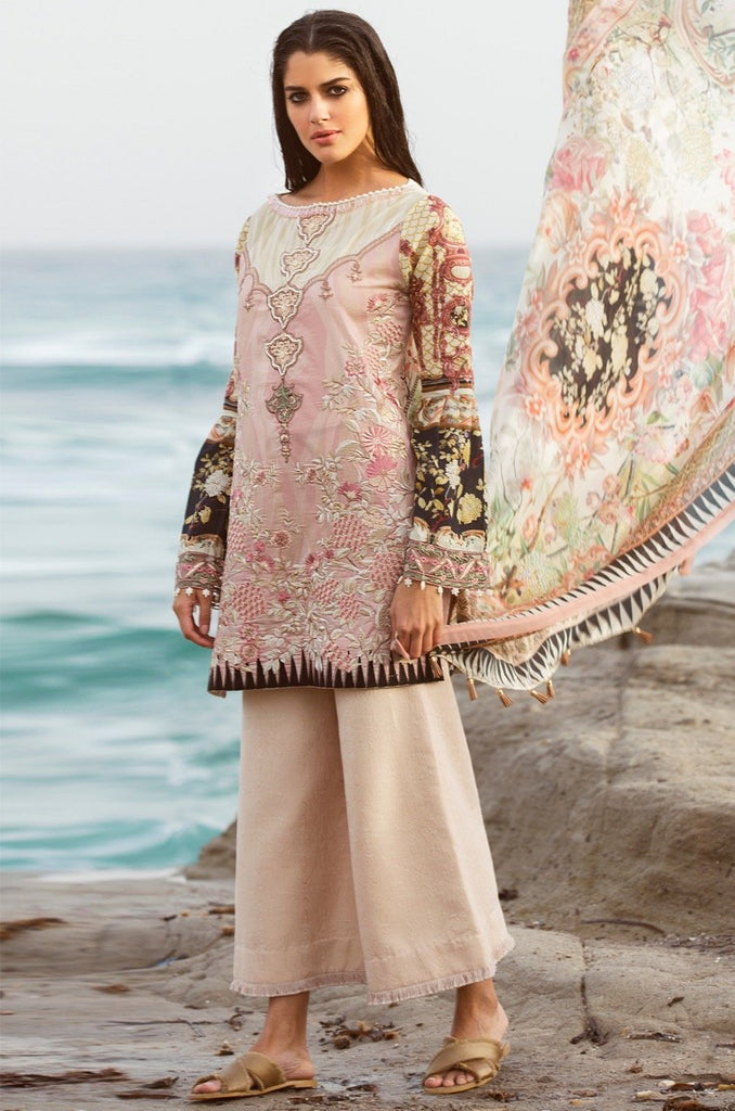 Shiza Hassan Luxury Lawn Collection '18 – Gemstone - 7A