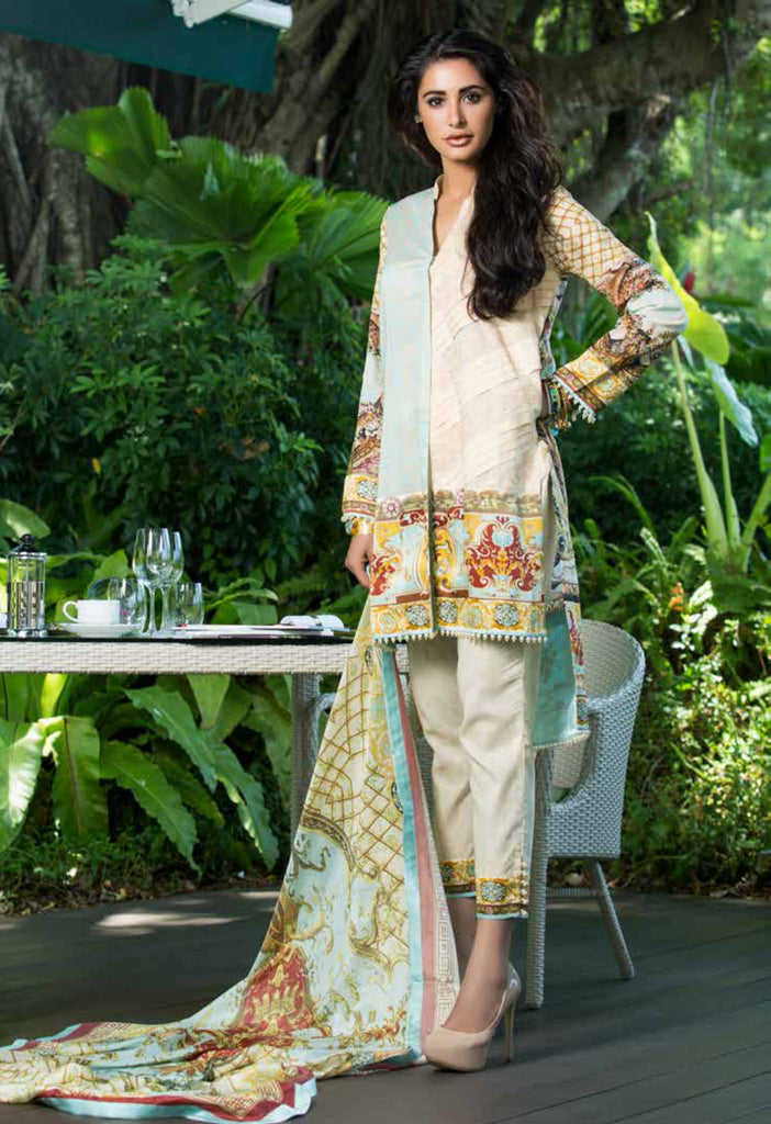 Shehla Chatoor Luxury Lawn Collection SS '16 – 7 - YourLibaas  - 1