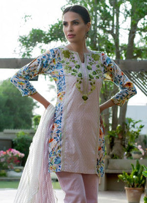 Sahil Designer Embroidered Lawn Collection Vol-11 – 07A