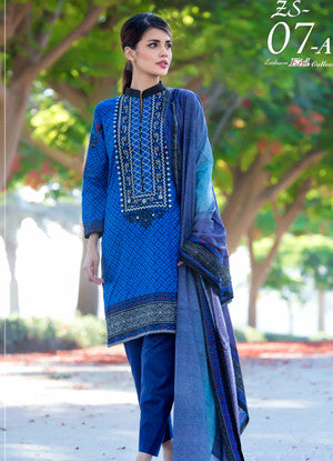 Sahil Embroidered Lawn Eid Collection Vol-10 – 07A