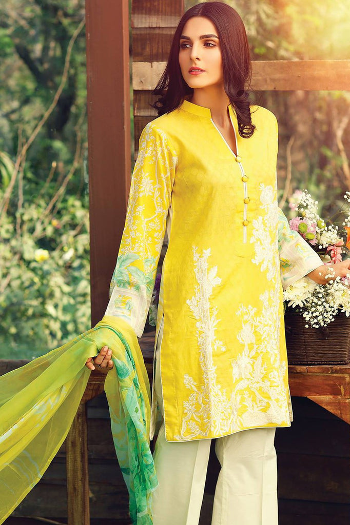 RajBari Embroidered Lawn Collection 2017 – 7A