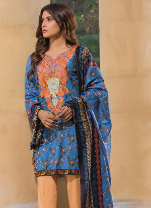 Sahil Cotton Embroidered Collection 2017 – 7B
