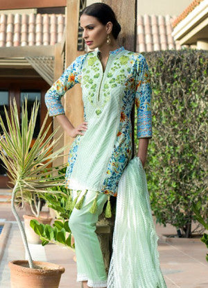 Sahil Designer Embroidered Lawn Collection Vol-11 – 07C