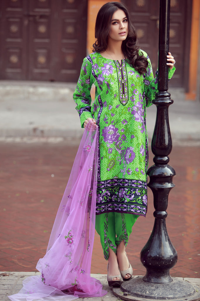 Libas Designer Embroidered Collection – 8A - YourLibaas  - 1