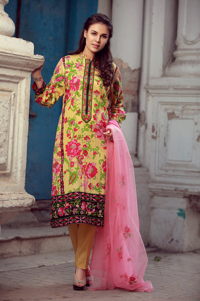 Libas Designer Embroidered Collection – 8B - YourLibaas  - 1