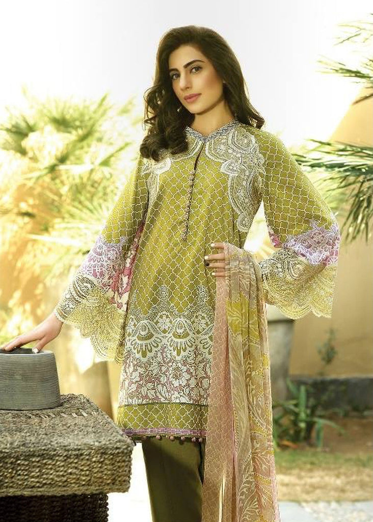 Crescent Lawn Spring/Summer Collection 2016 by Faraz Manan – CL08 - YourLibaas  - 1