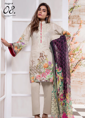 Sahil Designer Embroidered Eid Collection 2018 Vol 7 – SH7-8