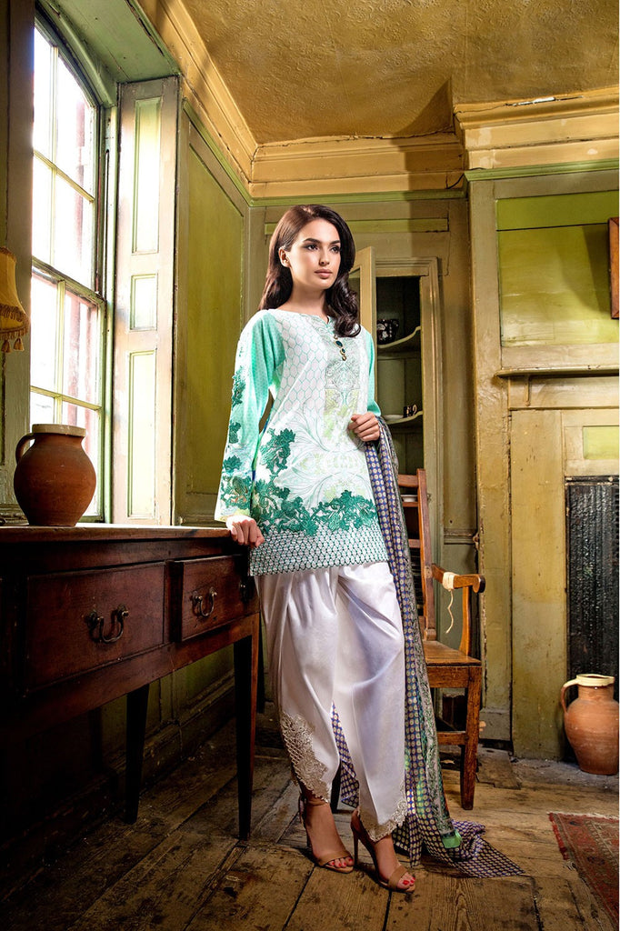 Sobia Nazir Lawn Collection '16 – 8A - YourLibaas  - 1