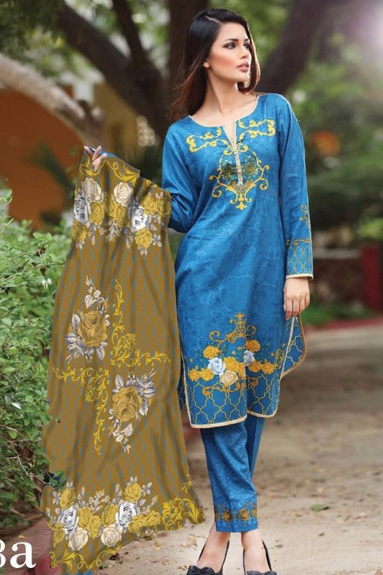 Anum Cambric Collection '16 – 08A - YourLibaas