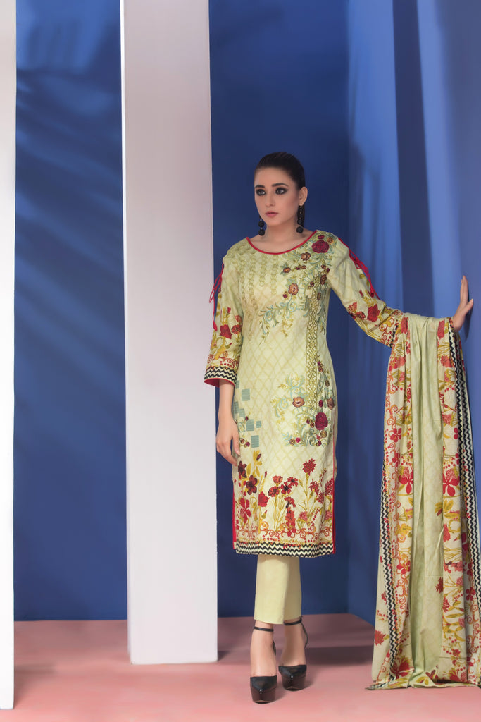 Sahil Designer Embroidered Lawn Collection Vol 6 – SH6-8A