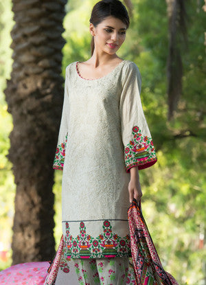 Sahil Embroidered Lawn Eid Collection Vol-10 – 08B