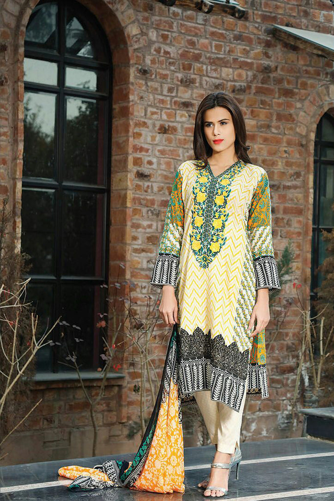 RajBari Spring/Summer Embroidered Lawn – 09A - YourLibaas  - 1