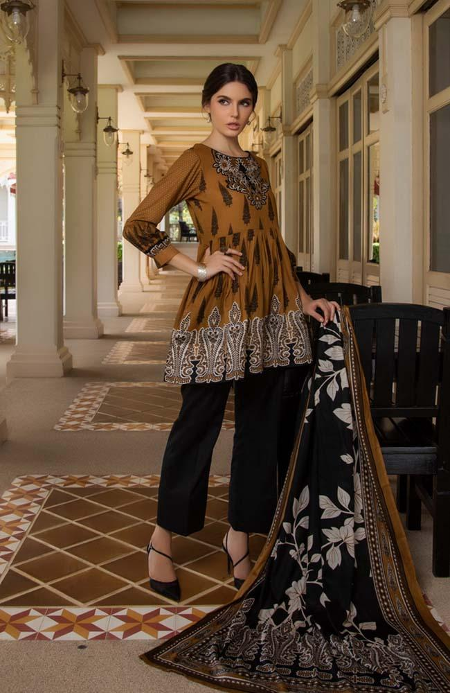 Anum by Al Zohaib Lawn Collection Vol-1 2020 – 09B