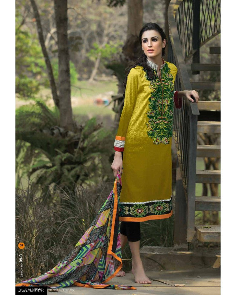 9C - Mahnoor Embroidered Collection 2015 - YourLibaas